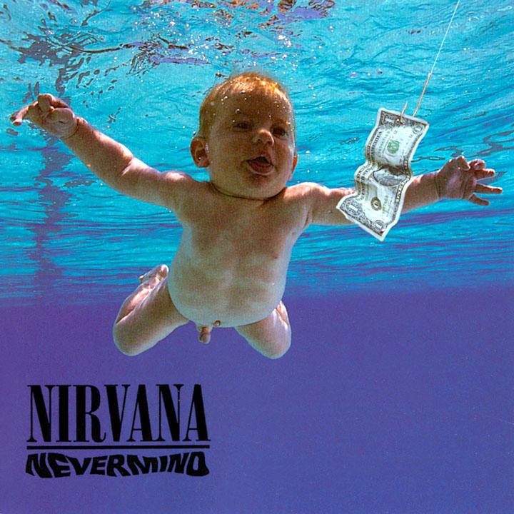 pochette d'un album de nirvana